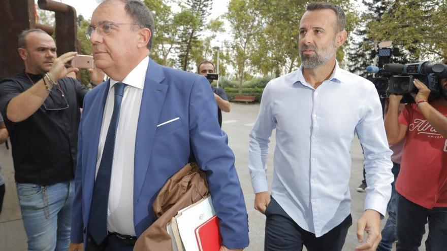 El Zaragoza ataca a Tebas para anular el juicio por el amaño con el Levante UD