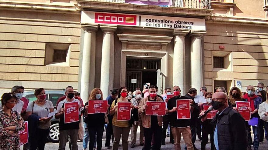 CCOO rechaza los ataques a un sindicato italiano