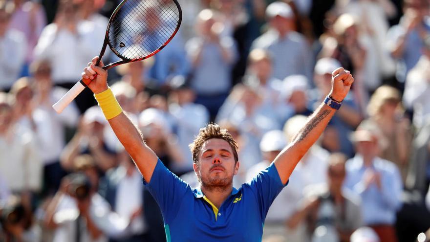 Roland Garros: Wawrinka gana a Murray en 4 horas y media