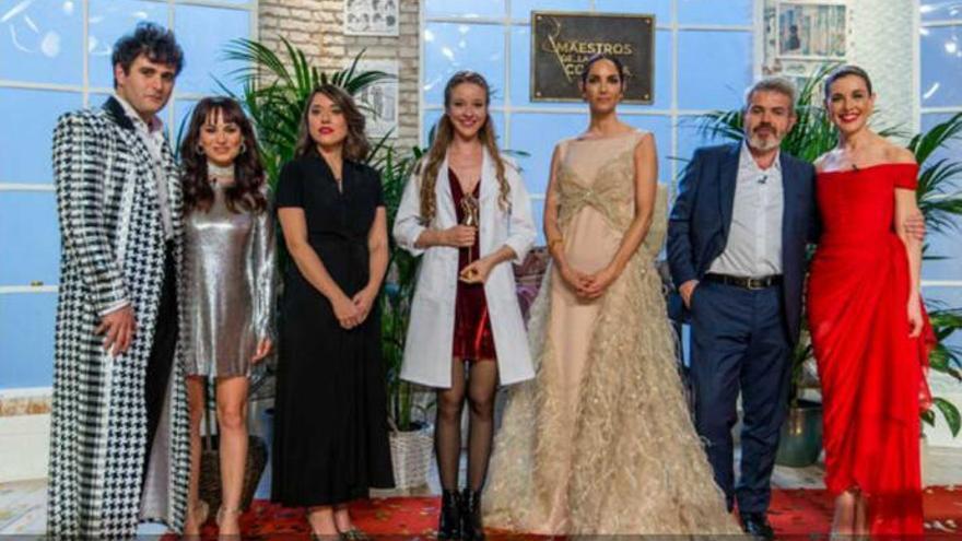 Alicia, ganadora de 'Maestros de la costura'