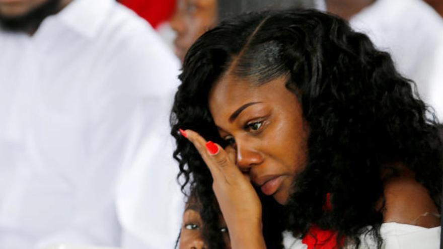 La viuda de un soldado caído en Níger deja en evidencia a Trump