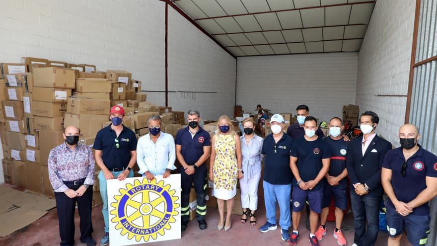 Bomberos de Marbella impulsan un proyecto humanitario para formar a cadetes de Líbano en extinción de incendios