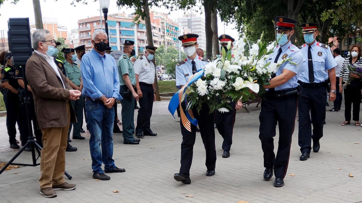 Homenaje a las víctimas del atentado de Hipercor