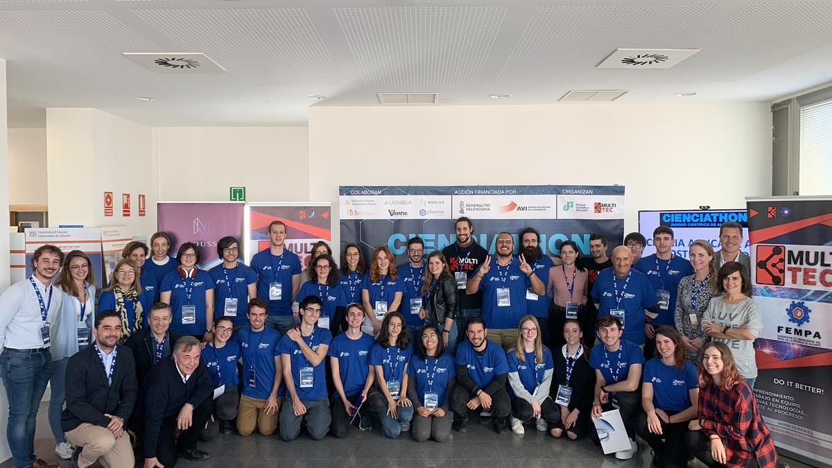 Participantes en la pasada edición de Cienciathon