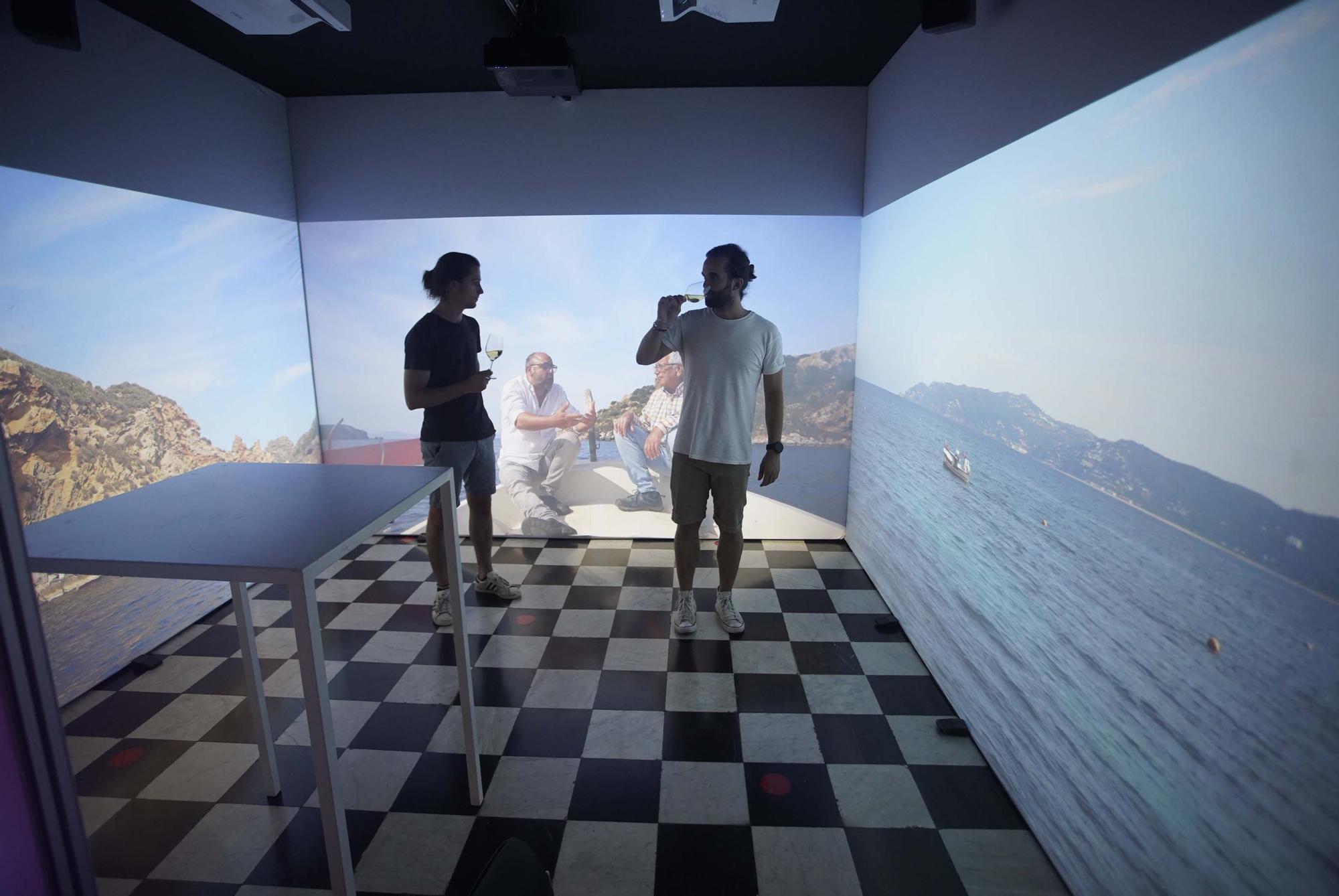 El mapatge interactiu del Vívid Insòlit està fins divendres a la ciutat de Girona
