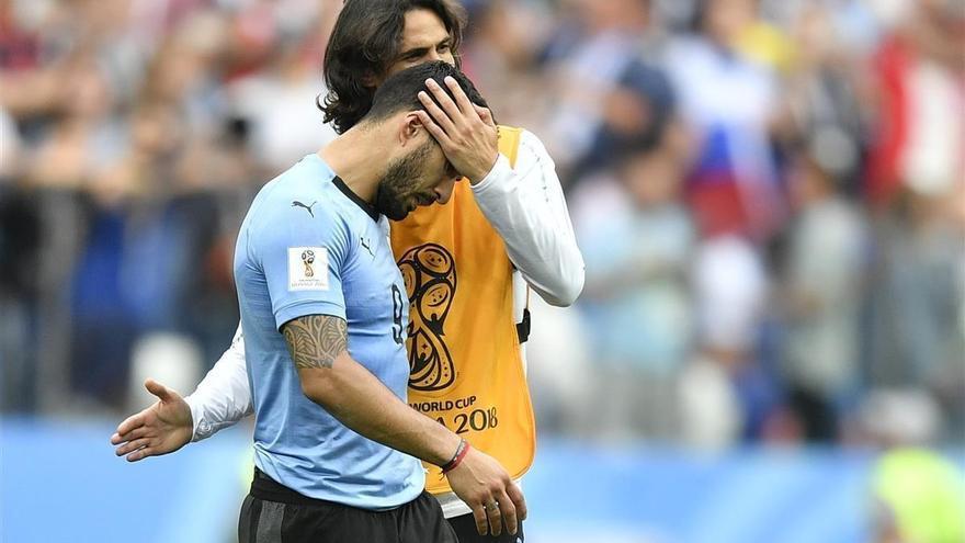 La desolación de Luis Suárez