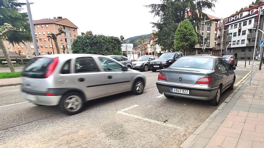 Detenido en Mieres un conductor que se dio a la fuga y cuadruplicó la tasa de alcohol