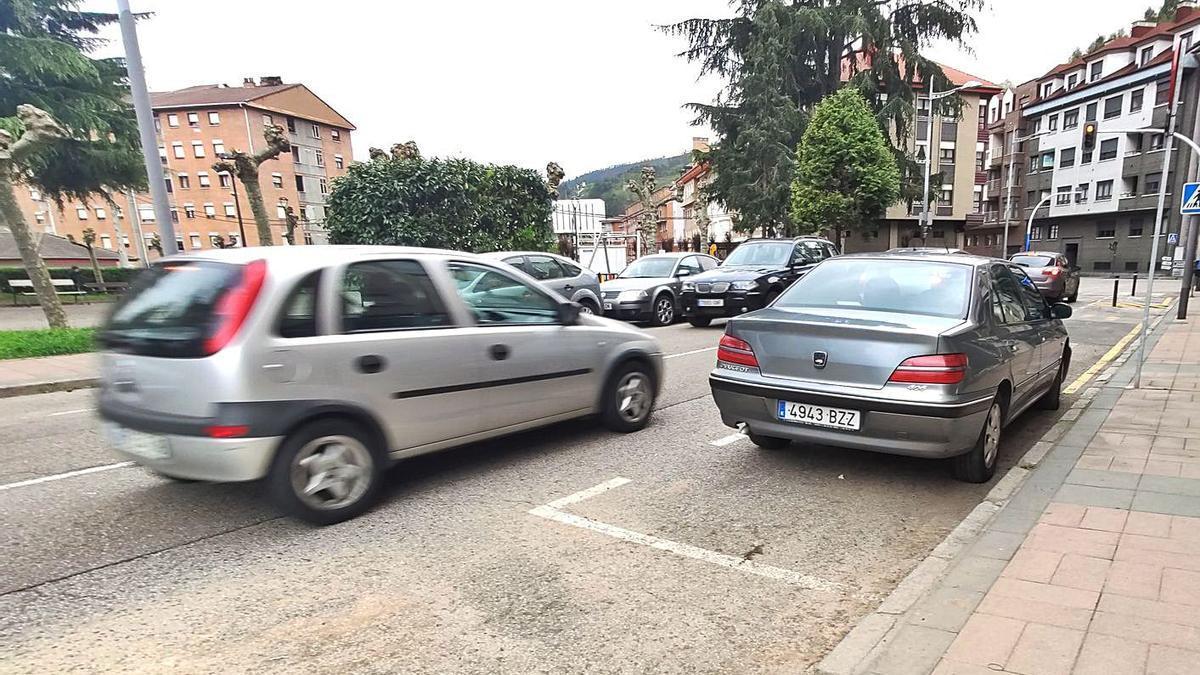 La calle Numa Guilhou, donde el hombre abandonó el coche y siguió la fuga a pie. | A. Velasco