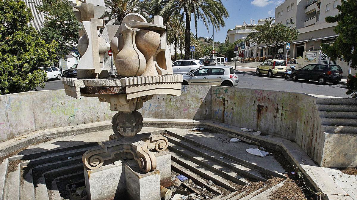 La fuente de Berrocal, en una foto de archivo de 2014. | GREGORIO TORRES