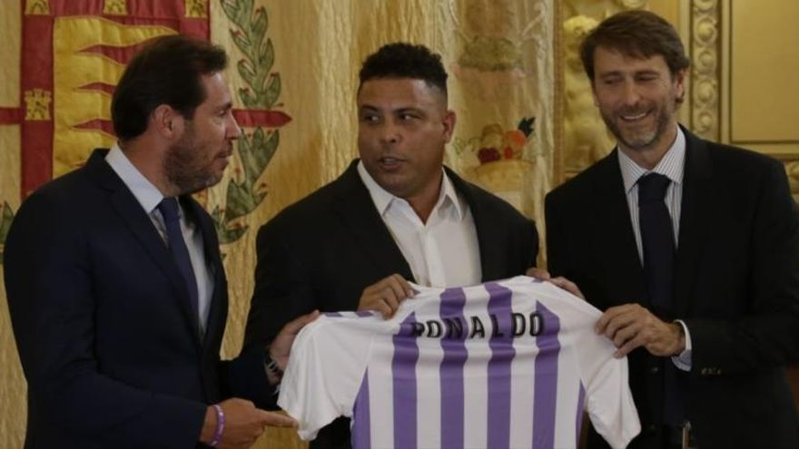 Ronaldo es converteix en el nou màxim accionista del Reial Valladolid