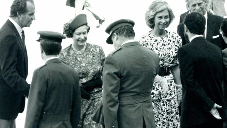 Als Prinz Philip und Queen Elizabeth II. Mallorca besuchten