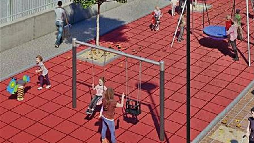El Mercado de Abastos ya tiene proyecto para ampliar el parque infantil