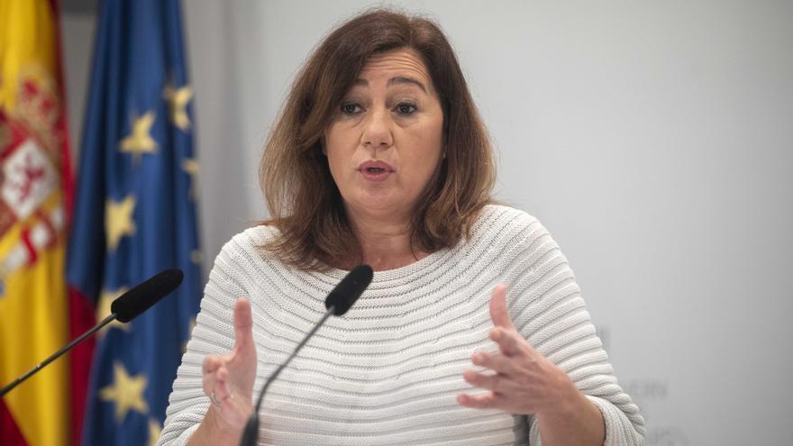 La presidenta de Baleares es la que menos cobra de todas las Comunidades Autónomas, según Forbes