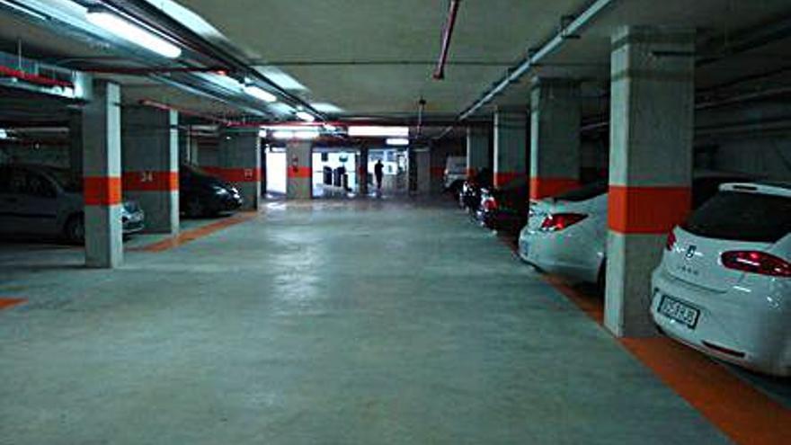 L'aparcament del Centre Històric obrirà a partir d'ara diumenges i els dies festius