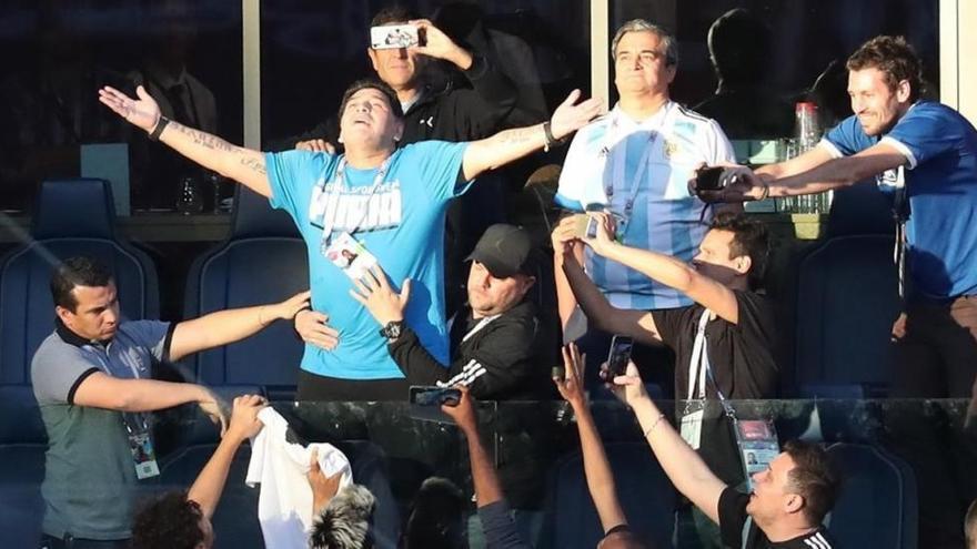 Diego Maradona, campeón mundial del histrionismo