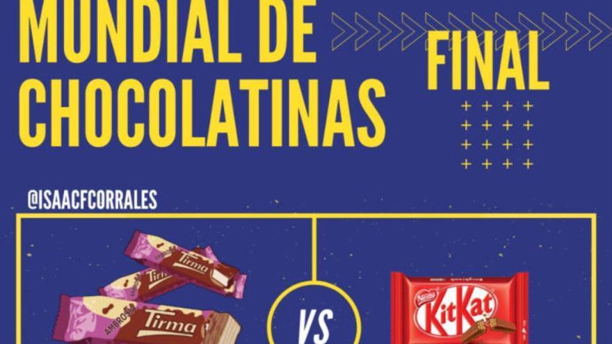 Las ambrosías Tirma, en la final del #MundialDeChocolatinas