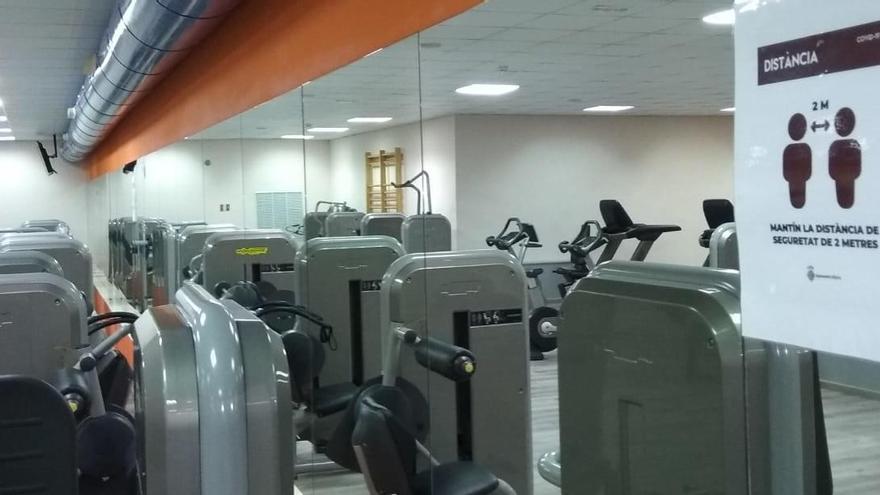 Alzira reabre el gimnasio municipal