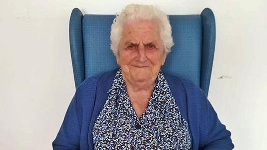 Marina Martínez celebra los 101 años