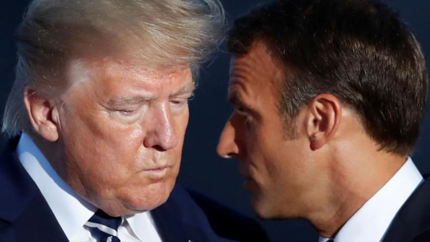 El ministro de Exteriores iraní llega a la cumbre del G7 en un golpe de efecto de Macron