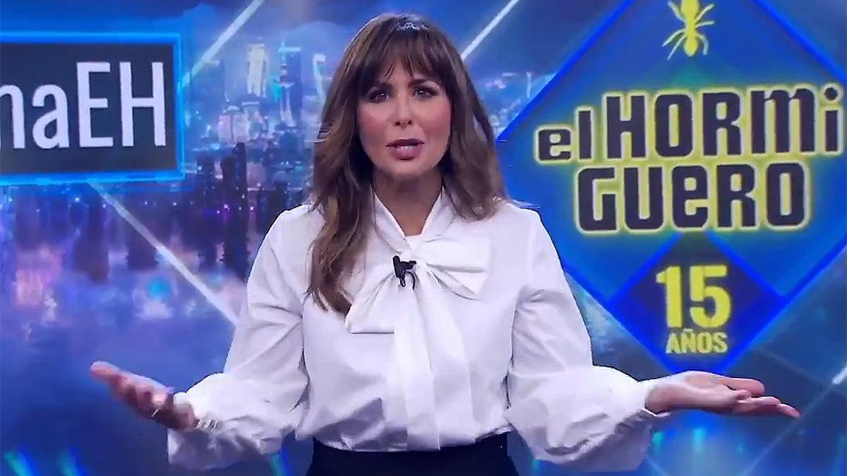 Nuria Roca, replacing Pablo Motos in & # 039; El Hormiguero & # 039 ;.
