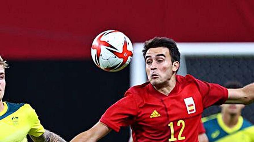 La selecció espanyola d'Eric Garcia se la juga contra l'Argentina