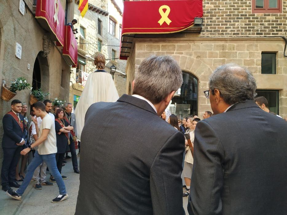 Quim Torra visita la Festa Major de Solsona