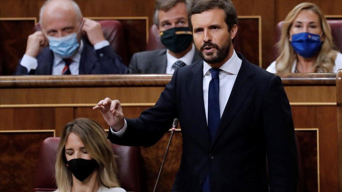 """Casado a Sánchez: """"Menos aplausos, menos autobombo y más coordinación para evitar rebrotes"""""""