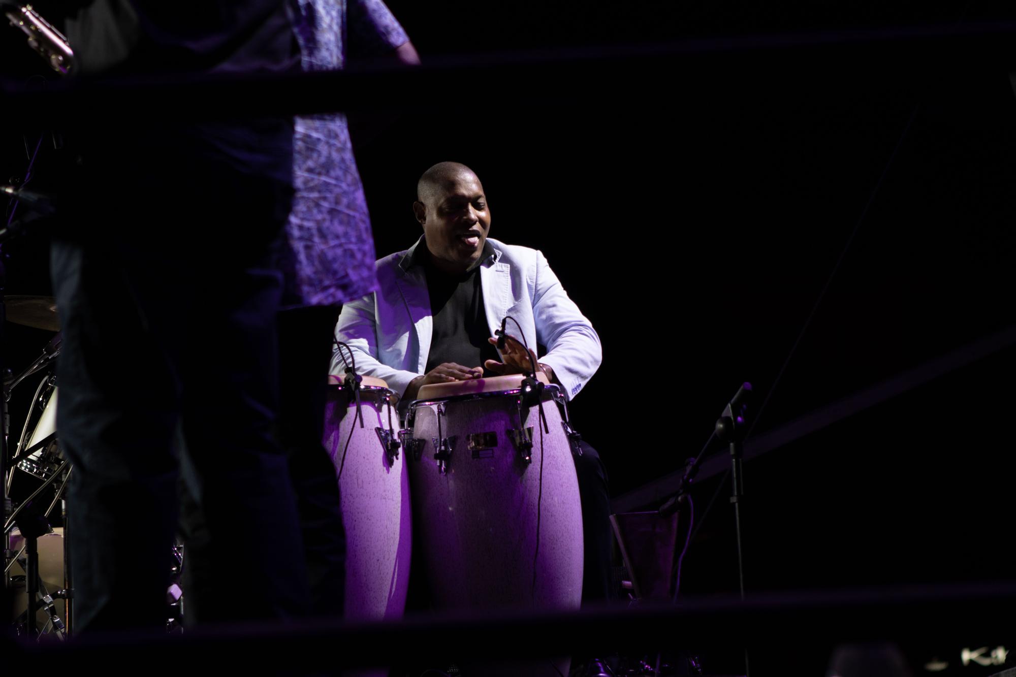 Lucrecia deslumbra en el Festival de Jazz de San Javier