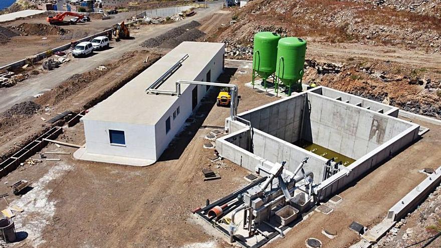 La depuradora de aguas residuales de La Campana se inaugura el 16 de junio