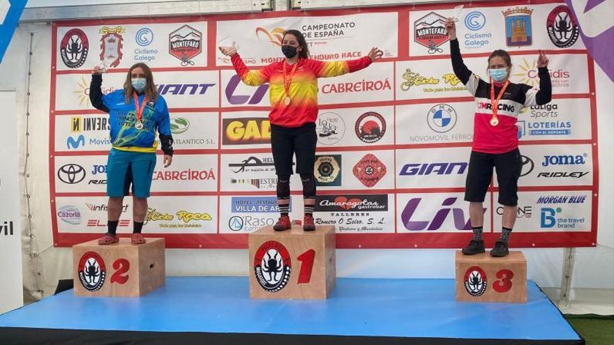 Ciclismo   La benaventana Sara Yusto se proclama campeona de España Absoluta