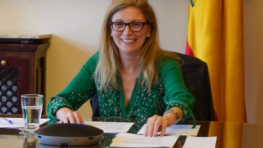 """La alcaldesa de Castelló reivindica una financiación local """"justa"""""""
