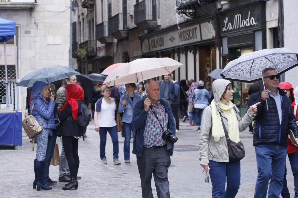Quim Torra, a Girona per Temps de Flors