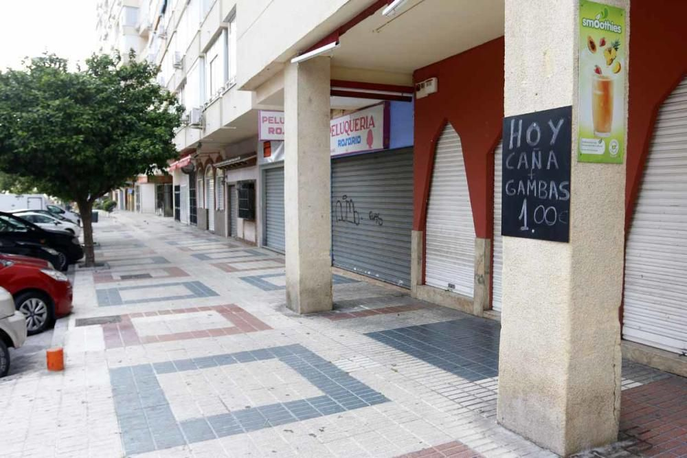 Lunes, 27 de abril   Las calles de Torremolinos durante el estado de alarma