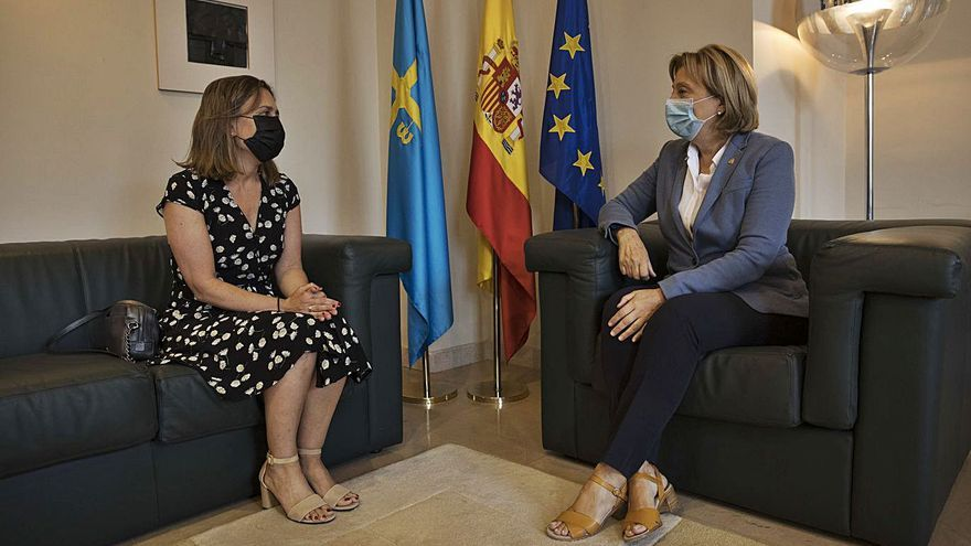 "María Calvo reclama un celendario de transición energética ""que no ahogue"" a las empresas"