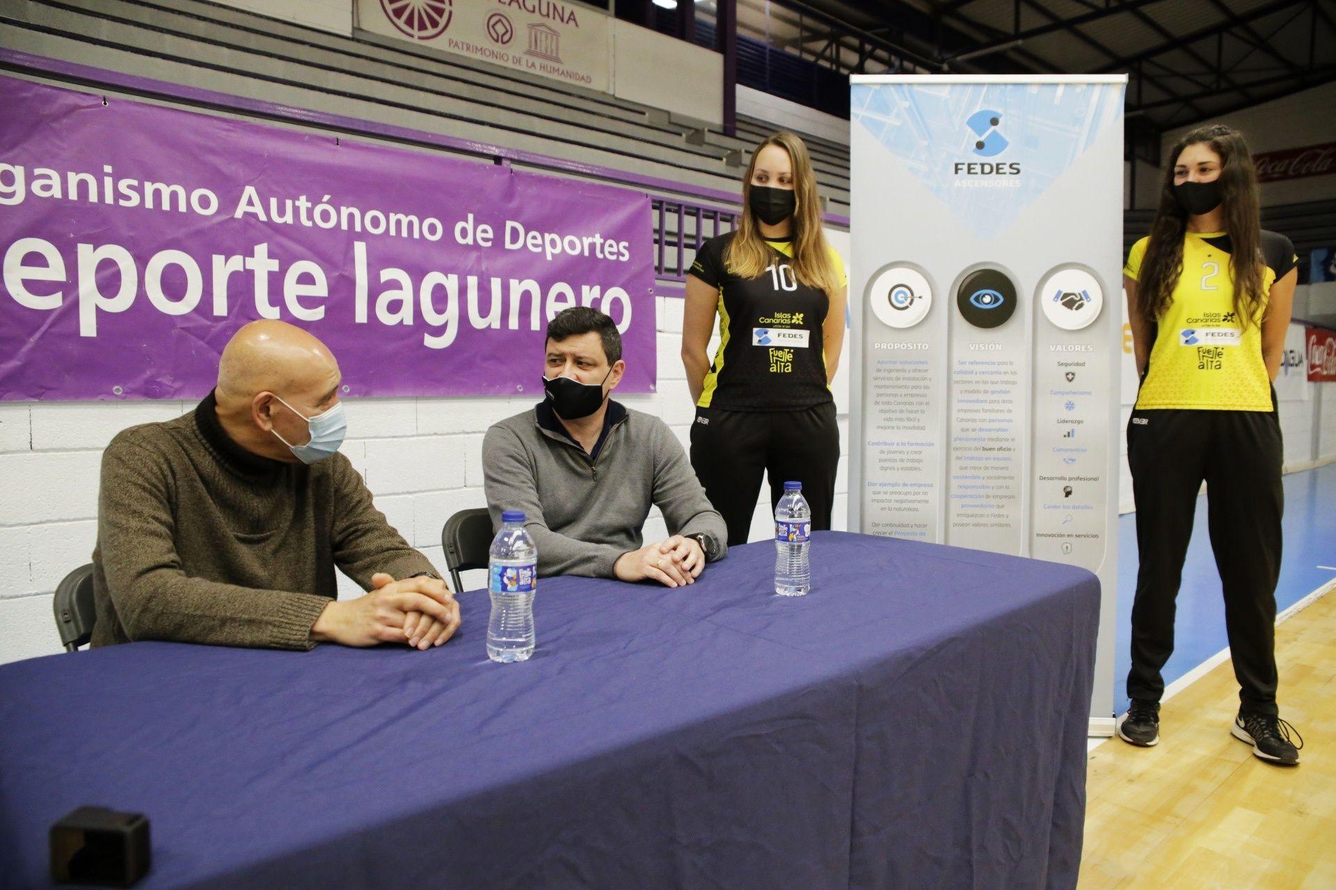 Presentación nuevo patrocinador CV Aguere