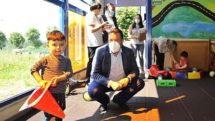 La Xunta financiará las obras de mejora de la escuela infantil de Lalín con cerca de 36.000 euros