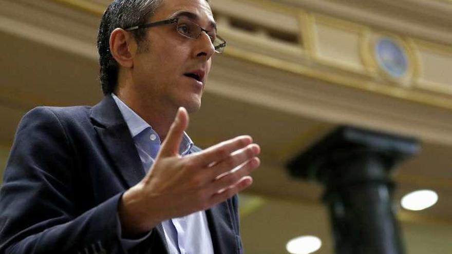 Eduardo Madina renuncia a seguir como diputado del PSOE y deja la política
