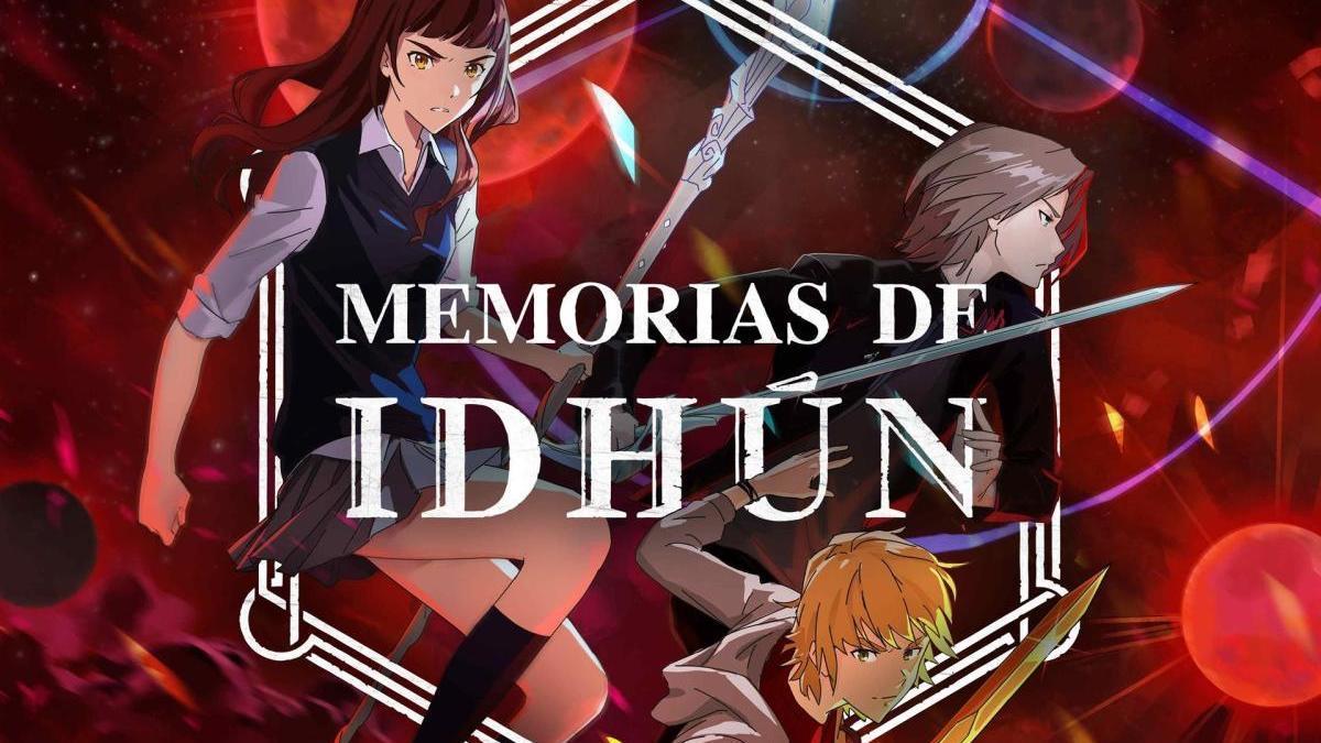Version anime de 'Memorias de Idhun'.