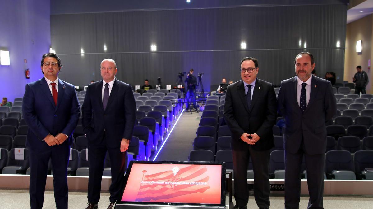 El Consejo de Administración del Sporting.