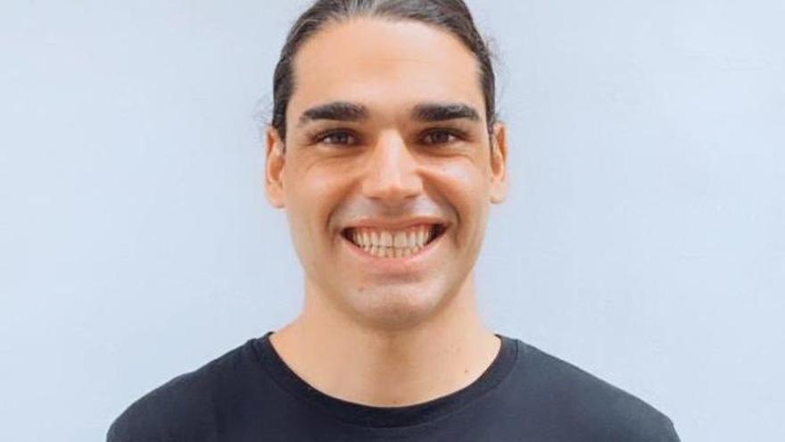 Rubén Jurado, en la imagen que ha compartido el Poblense en redes sociales.