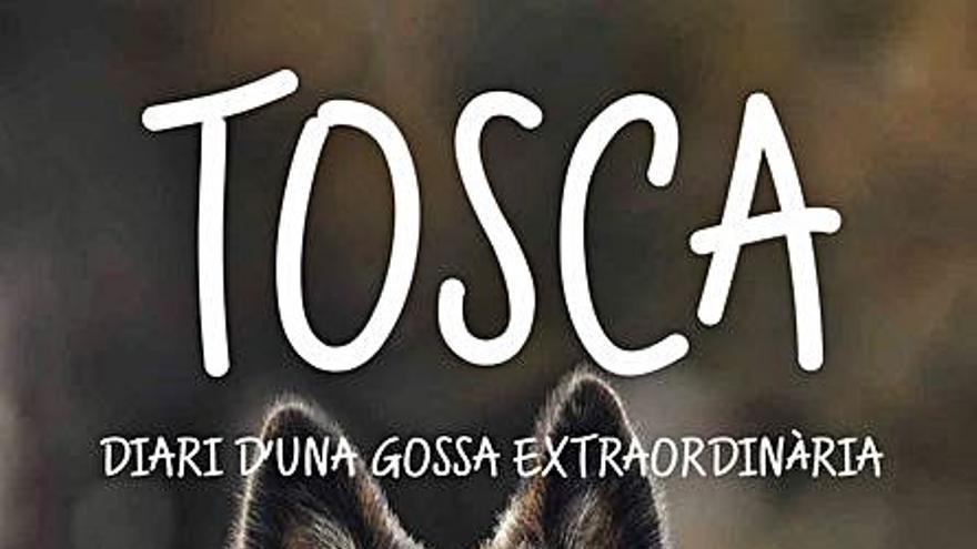 Un libro sobre la perra Tosca, a beneficio de la protectora