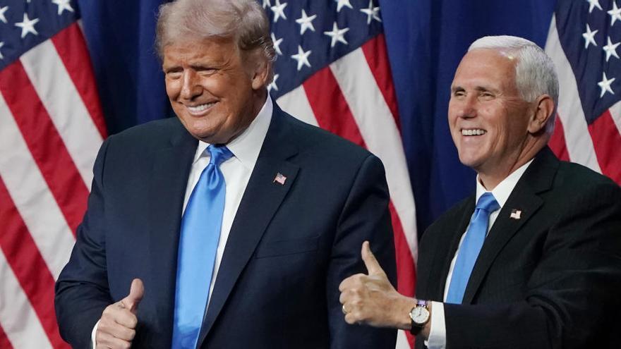 """Trump insiste en el """"fraude"""" del voto por correo"""