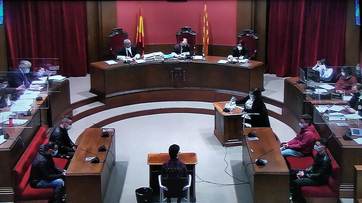Segunda sesión del juicio por violación múltiple en Sabadell