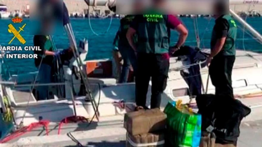 Una treintena de detenidos en una operación contra el narcotráfico en Andalucía