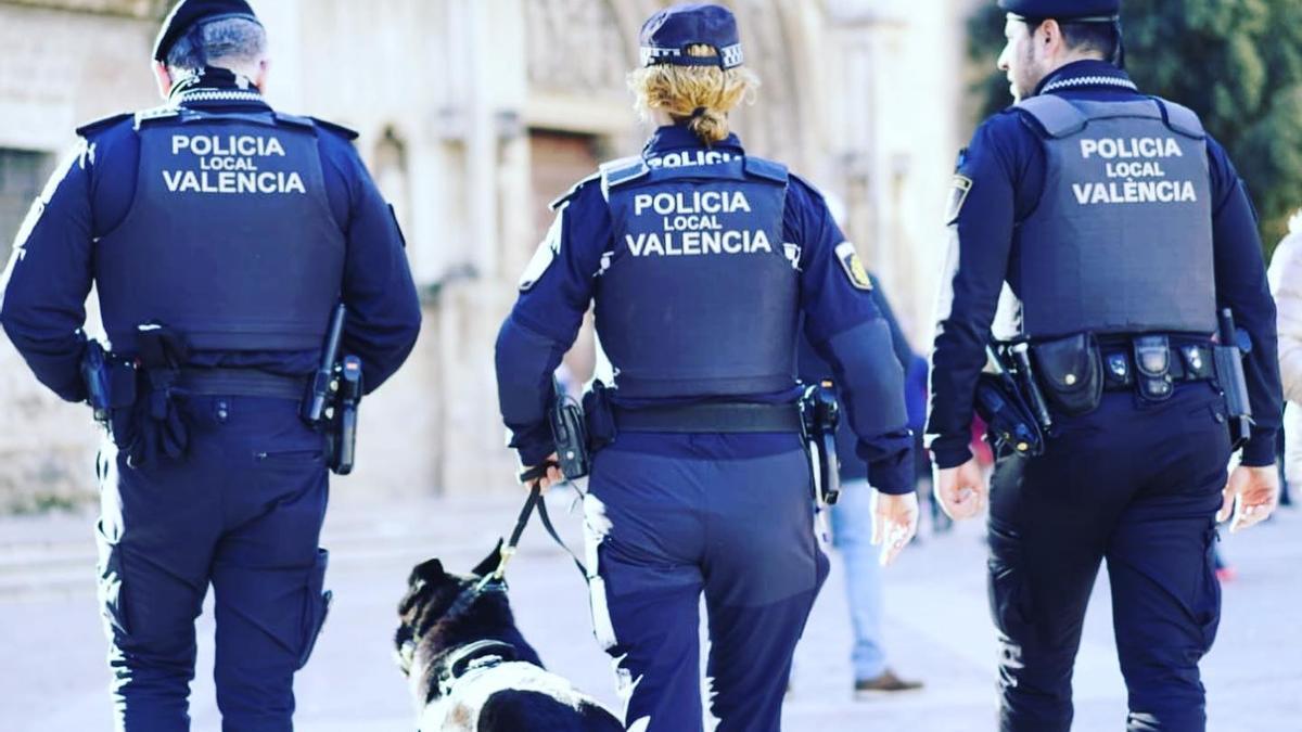 Foto de archivo Policía Local Valencia