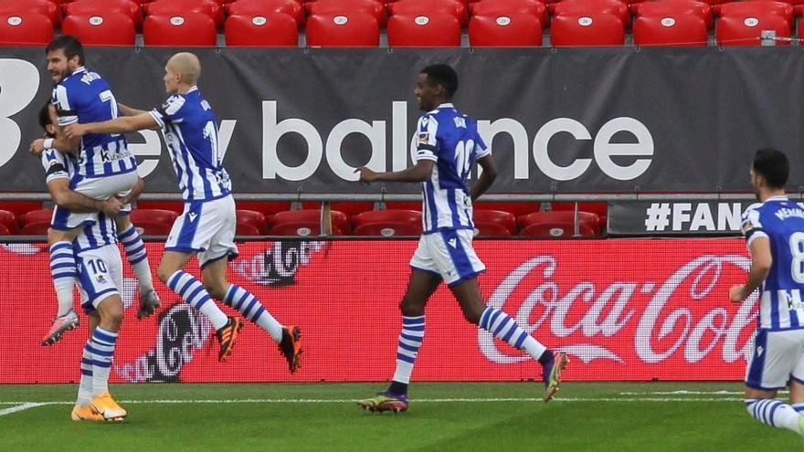 La Real cierra un gran 2020 ganando el derbi al Athletic