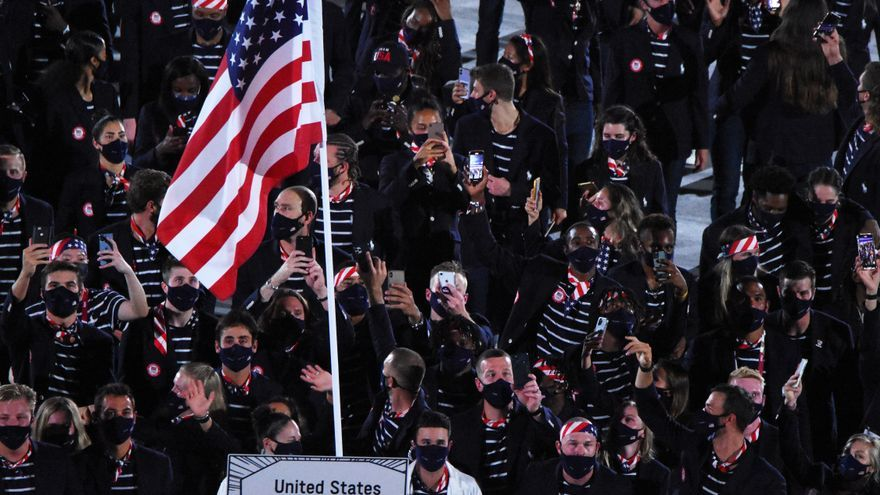Biden ensalza a los deportistas olímpicos de EEUU mediante una videollamada