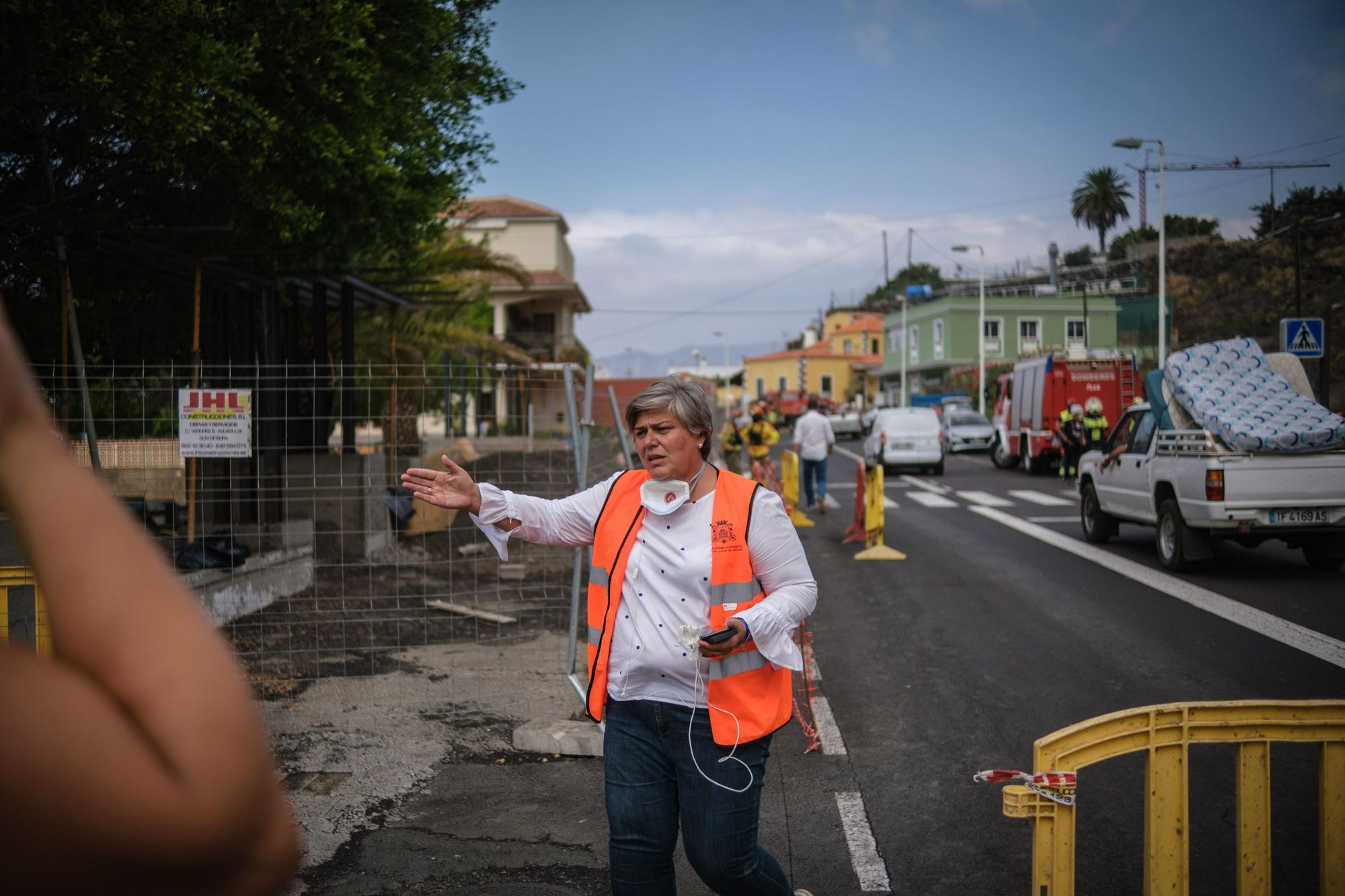 Tercer día del volcán en erupción en La Palma: desolación y evacuaciones