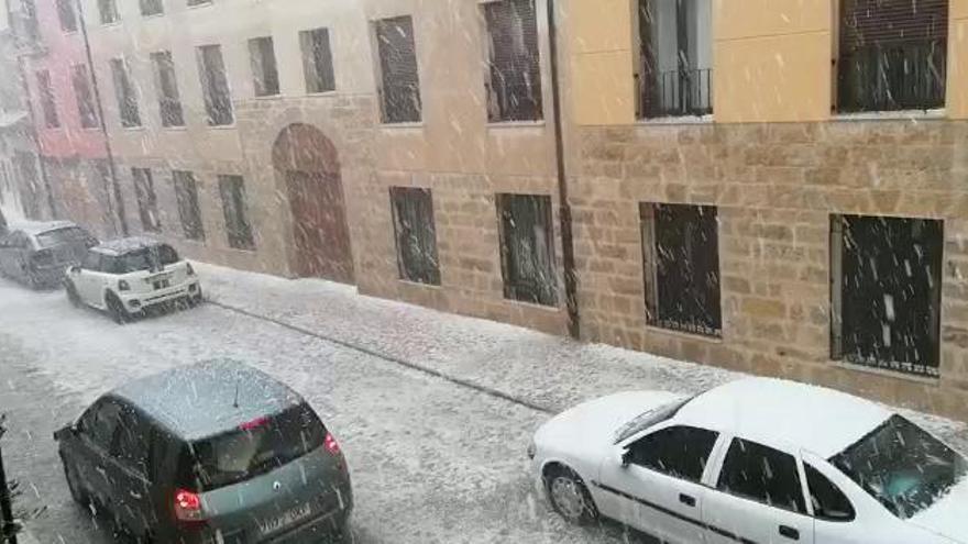 La tormenta deja en Toro 8,8 litros de agua