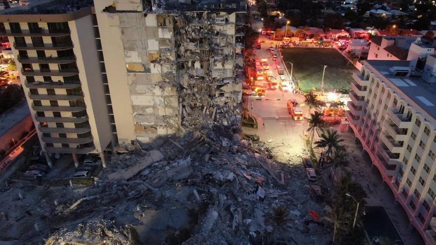 Encuentran cuatro nuevas víctimas del derrumbe en Miami y el total llega a 28